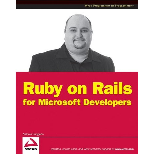 Cover of the Ruby on Rails for Microsoft Developers book