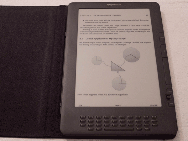 Math Better Explained on the Kindle DX